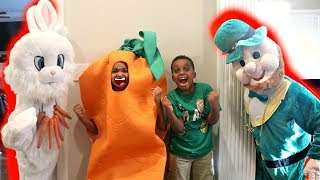 Shiloh And Shasha Easter Bunny with St Patrick EPIC RAP! - Onyx Kids