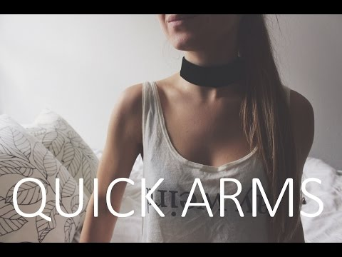 QUICK ARMS - Toning Arm Exercise in Less Than 6 Minutes