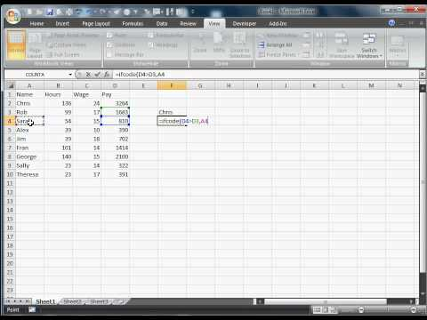 #3 VBA - Excel If Function in VBA code