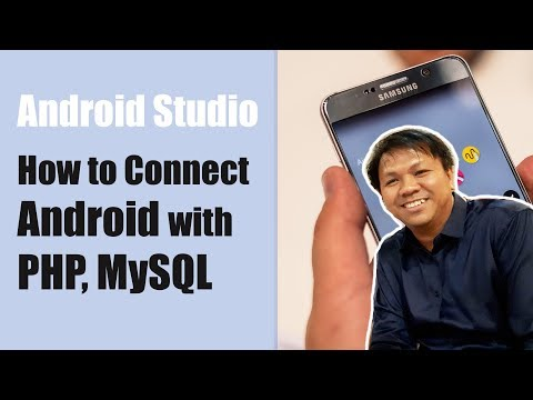 How to Connect Android with PHP, MySQL ☎️ Best Android Studio Tutorial ☎️ ANDROID PHONE