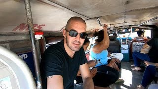 Riding a Jeepney in Naga City, Bicol, Philippines