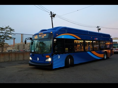The New Breed! : MTA New York City Bus 2016 New Flyer XN40