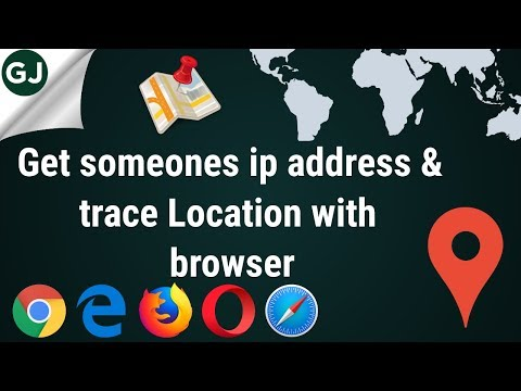 How to get someones IP ADDRESS and track LOCATION with any browser by ||Prashant Ardeshana ||