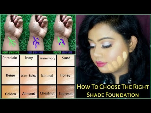 HOW TO CHOOSE THE RIGHT FOUNDATION SHADE | WHAT IS UNDERTONE? | HOW TO SHOP FOUNDATION ONLINE |
