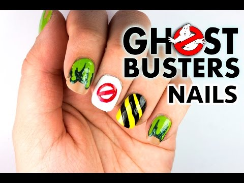 Ghostbusters Nail Art Design   Viki Nailbeauty