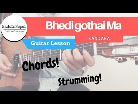 bhedi gothaima - kandara - Guitar Lesson | Chords