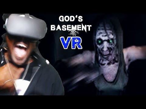 EXPLORE THE DEPTHS OF GOD'S BASEMENT IN VR