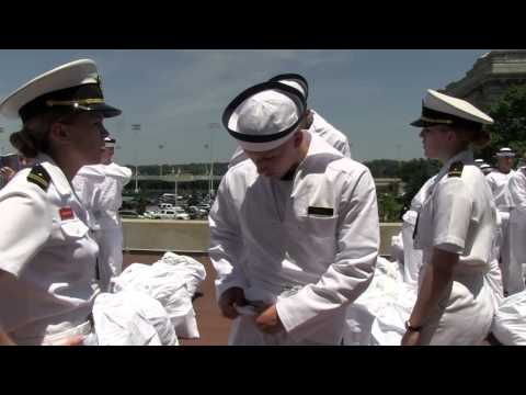USNA's I-Day, Class of 2018