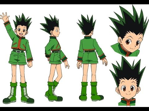 DRAGON BALL XENOVERSE: how to create Gon from Hunter X hunter