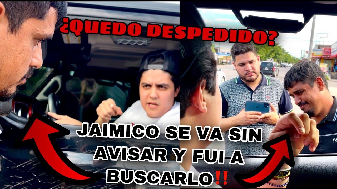 JAIMICO DEJO DE IR A TRABAJAR Y FUI A BUSCARLO Y ESTO PASO!!  | MARKITOS TOYS