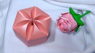 Amazing DIY gift box. NO templates! Ideas for Valentine