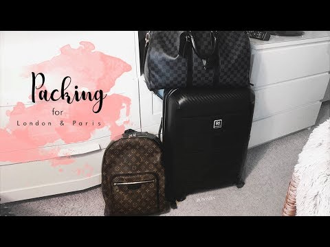 Chrisobv // Packing for London & Pairs