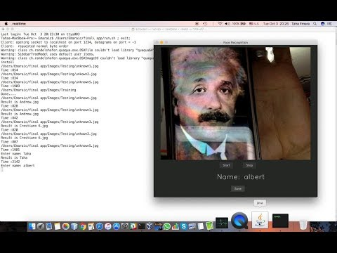 Realtime Face Recognition System Using Deep Learning