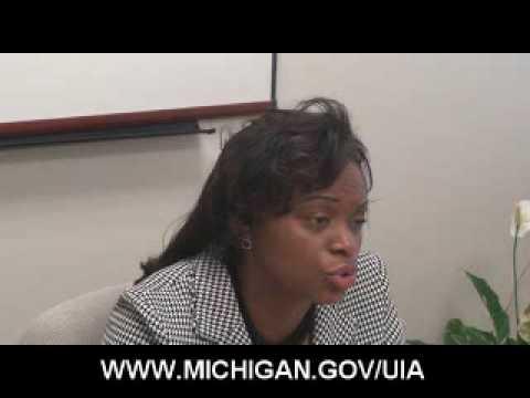 Michigan Unemployment Insurance Agency Director, Grand Rapids Sharon Moffett-Massey Part 1