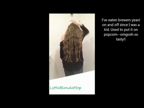 Long hair and brewers yeast/nutritional yeast
