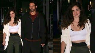 Arjun Rampal freely Roames With New Girlfriend Gabriella Demetriades After Divorce With Mehr Jesia