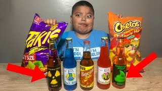 Nasty SODA CHALLENGE! Takis challenge, Super Gross Toys andme guava juice