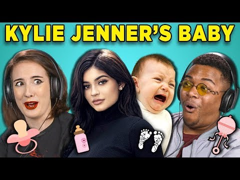 COLLEGE KIDS REACT TO KYLIE JENNER'S BABY (To Our Daughter)