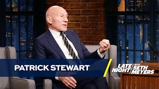 Patrick Stewart Has Beef with James McAvoy