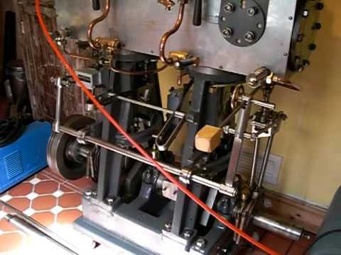 Sisson Compound Steam Engine