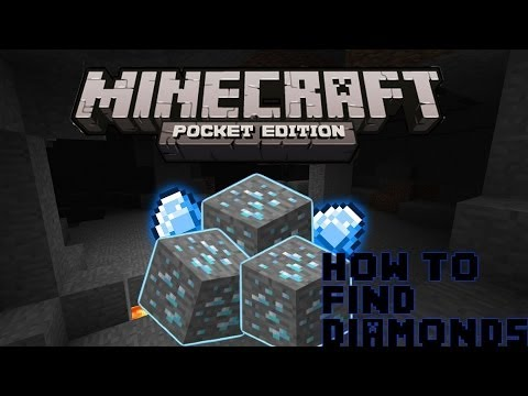 Minecraft PE Seeds: #3 Lets Find Diamonds In 3 Minutes! (Tips & Tricks)