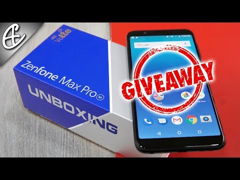 Asus Zenfone Max Pro M1 Unboxing & Giveaway!