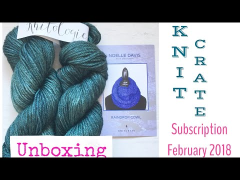 KNITCRATE February 2018 - unboxing&review | TeoMakes