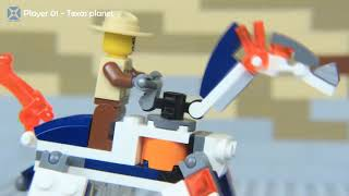 Download LEGO - TEXAS WORLD - (Stop-Motion) #FOR KIDS - LEGO Time Video