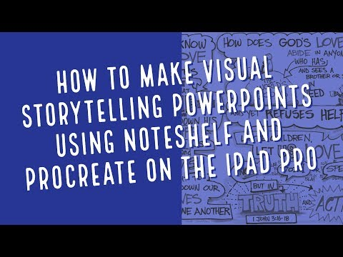 How to Create Storyboard PowerPoints Using Noteshelf and Procreate on iPad Pro