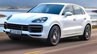 2018 Porsche Cayenne Turbo Driving Video World Premiere New Porsche Cayenne Turbo 2018 CARJAM TV