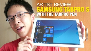Artist Review Samsung TabPro S With Galaxy C Pen