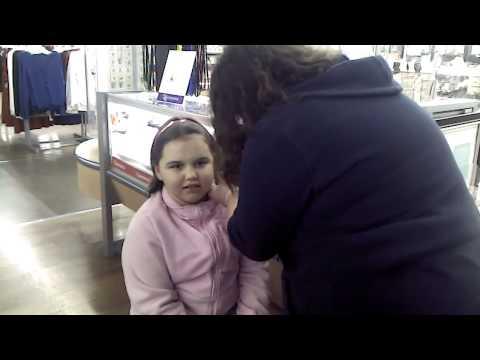 jenna gets her ears pierced