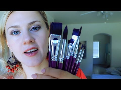🖌️ You are my CANVAS 🎨 ASMR ○ Painting ○ Brushing ○