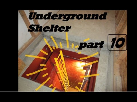 UNDERGROUND shelter, How to build an underground Bunker!!! #10