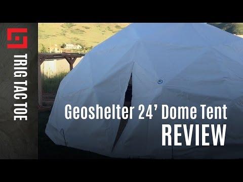 Geoshelter Kupoli 24' Geodesic Dome Tent Review - Episode 4