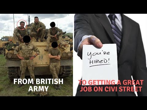 Getting a Job After leaving the British Army
