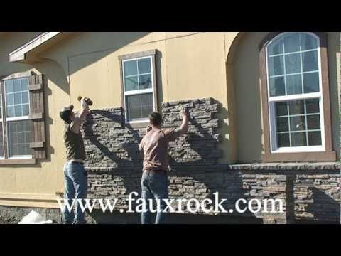Installation Stacked Stone Veneer Panels over using cultured stone- part-2
