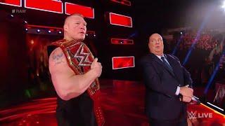 REPORT SAYS BROCK LESNAR IS LEAVING WWE Major Raw WWE NEWS