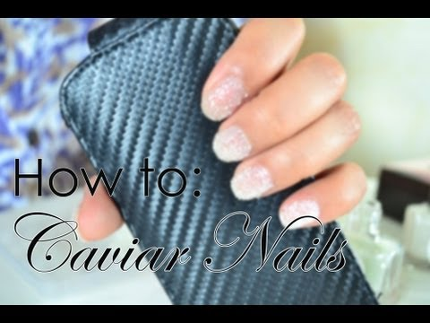How to Apply Caviar Nails + Ciate Manicure Dupe
