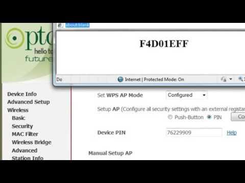PTCL Wi Fi Settings in 5815 Modem urdu tutorial