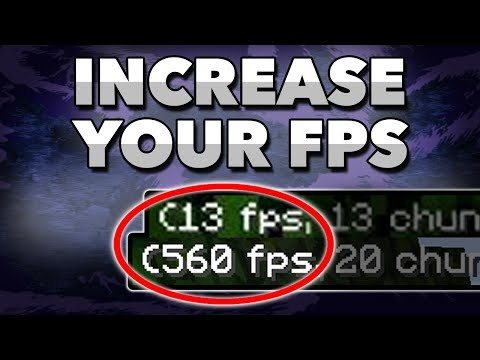 How To Get More FPS in Minecraft [2017] FPS BOOST