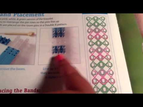 Rainbow Loom-Multicolor Triple Single bracelet for beginners-STEP BY STEP New 2014
