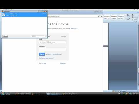 How to download Google Chrome for Windows Vista