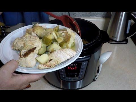 Aicok Pressure Cooker Marinated Turkey Tenderloin Dinner