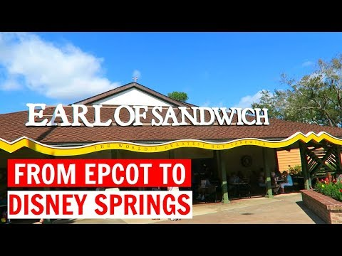 FROM EPCOT TO DISNEY SPRINGS | WDW Vacation February 2017 Day 4, Part 1