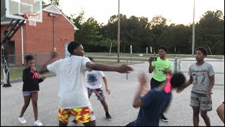 They fought over basketball 🏀 || *got knocked out
