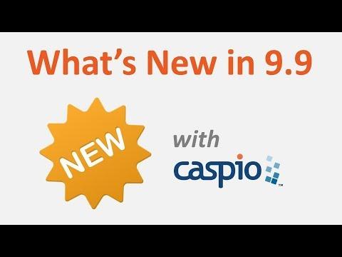 What's New in Caspio Bridge 9.9