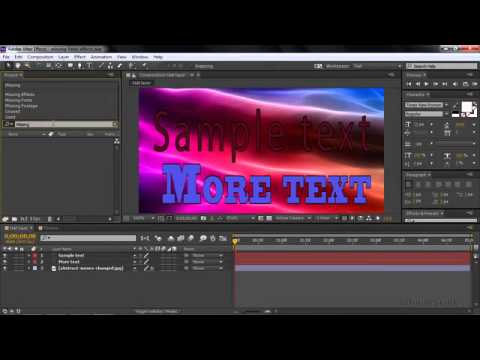 Easily find missing footage, fonts and effects   Learn After Effects CC