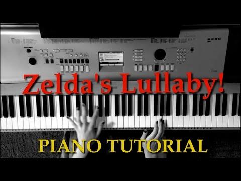 Zelda's Lullaby Piano Tutorial