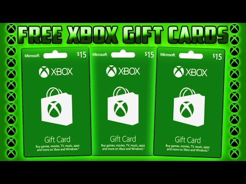 HOW TO GET FREE XBOX GIFT CARDS! (FAST AND EASY) Working September 2017